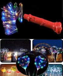 - Balon Ve Dekorasyon Led Işığı Rengarenk Kırmızı 3 Mt