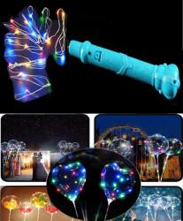 - Balon Ve Dekorasyon Işığı Rengarenk 3 Mt Mavi