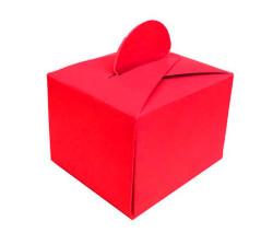 - Kırmızı Karton Lokumluk