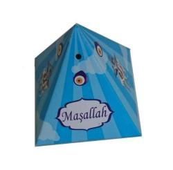 - Lokumluk Karton Piramit Sünnet Çocuğu