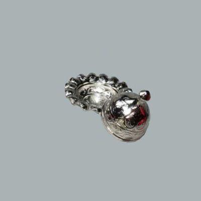 Lokumluk Yuvarlak Küçük Gümüş