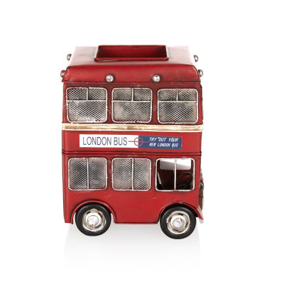 Londra Şehir Otobüsü Retro Kalemlik