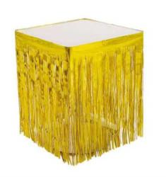 - Masa Kenarı Eteği Ve Fonsüsü Metalize Altın (75x420 cm) 1'li Paket