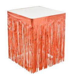 - Metalize Masa Kenarı Eteği Pembe