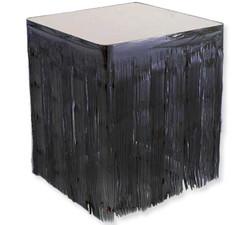 - Masa Kenarı Eteği Fonsüs Metalize Yerli Siyah P1-50