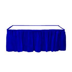 - Plastik Masa Kenarı Eteği Lacivert (422x72 cm) 1'li Paket