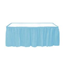 - Plastik Masa Kenarı Eteği Mavi (422x72 cm) 1'li Paket