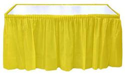 - Masa Kenarı Eteği Plastik Sarı Pk:1 Kl:24