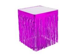 - Masa Kenarı Eteği Ve Fonsüsü Metalize Fuşya (75x420 cm) 1'li Paket