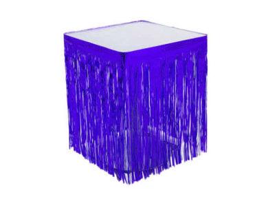 Metalize Masa Kenarı Eteği Lacivert (75x420 cm) 1'li Paket