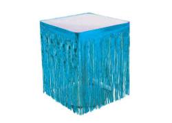 - Masa Kenarı Eteği Ve Fonsüsü Metalize Mavi (75x200 cm) 1'li Paket