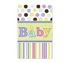 - Baby Tiny Bundle Masa Örtüsü (137x259 cm) 1'li Paket