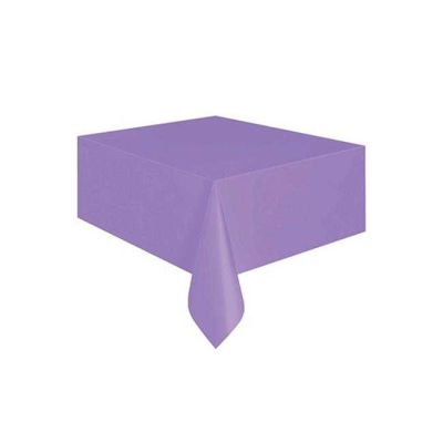 Desensiz Masa Örtüsü Mor (137x183 cm) 1'li Paket