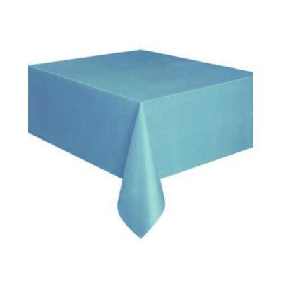Düz Mavi Masa Örtüsü (137x183 cm) 1'li Paket