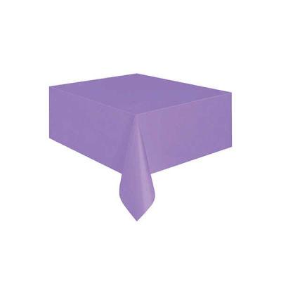 Düz Mor Masa Örtüsü (137x183 cm) 1'li Paket