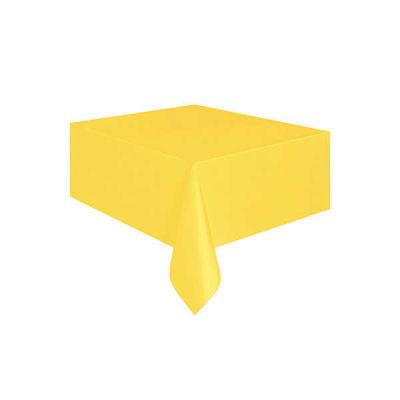 Düz Sarı Masa Örtüsü (137x183 cm) 1'li Paket