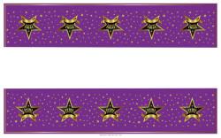 - İyiki Doğdun Yıldızlı Masa Örtüsü (108x180 cm) 1'li Paket