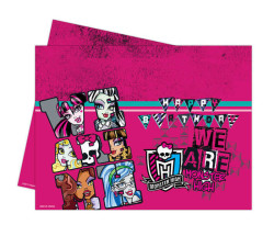 - Monster High Klasik Masa Örtüsü (120x180 cm) 1'li Paket
