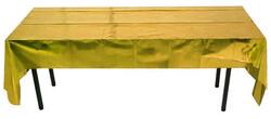 - Masa Örtüsü Parlak Metalize Altın Pk:1 Kl:200
