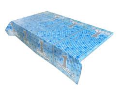 - Pırıltılı Mavi Masa Örtüsü (120x180 cm) 1'li Paket