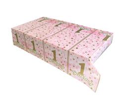 - Pırıltılı Pembe Masa Örtüsü (120x180 cm) 1'li Paket