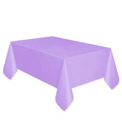 - Mor Plastik Masa Örtüsü (137x270 cm) 1'li Paket