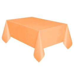 - Turuncu Plastik Masa Örtüsü (137x270 cm) 1'li Paket
