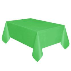 - Yeşil Plastik Masa Örtüsü (137x270 cm) 1'li Paket