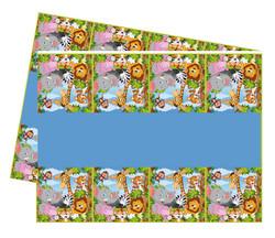 - Masa Örtüsü Safari Sevimli Hayvanlar 120x180 Cm Pk:1 Kl:200
