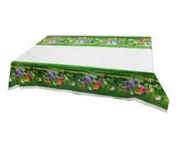 - Sevimli Hayvanlar Masa Örtüsü (108x180 cm) 1'li Paket