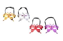 - Kelebek Model Karışık Renk Maske