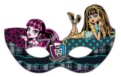 - Monster High Klasik Maske