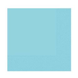 - Mavi Kağıt Peçete (33x33 cm) 20'li Paket