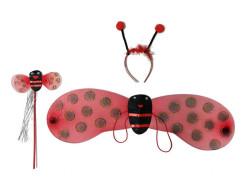 - Uğur Böceği Melek Set Kırmızı