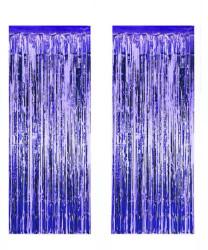 - Metalize Fon Süsü 50x230 cm 2 Li Set Lacivert