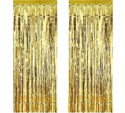 - Metalize Fon Süsü Asmalı Yerli Altın Pk:2 Li Kl:50