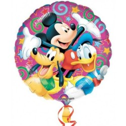 - Mickey Playful Folyo Balon 18 inç (43x43 cm)