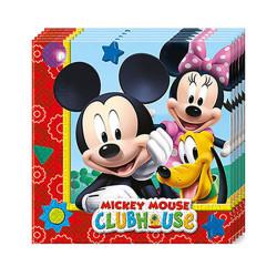- Mickey Playful Kağıt Peçete (33x33 cm) 20'li Paket