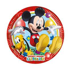 - Mickey Playful Karton Tabak (23 cm) 8'li Paket