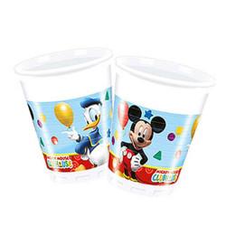 - Mickey Playful Plastik Bardak (200 cc) 8'li Paket