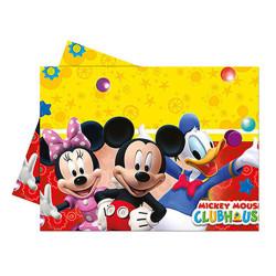 - Mickey Playful Plastik Masa Örtüsü (120x180 cm) 1'li Paket
