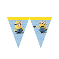 - Minions Üçgen Bayrak Set