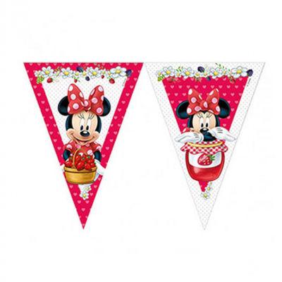 Minnie Çilek Bayrak Afiş