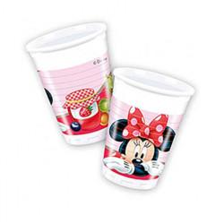 - Minnie Çilek Plastik Bardak (200 cc) 8'li Paket