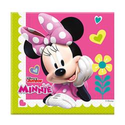 - Minnie Mutlu Arkadaşlar Kağıt Peçete (33x33 cm) 20'li Paket