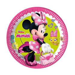 - Minnie Mutlu Arkadaşlar Kağıt Tabak (23 cm) 8'li Paket