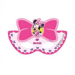 - Minnie Pembe Fiyonklu Kağıt Maske