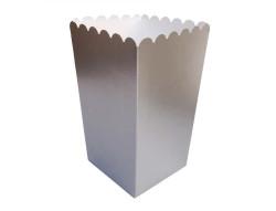 - Mısır Cips Kutusu Düz Gümüş