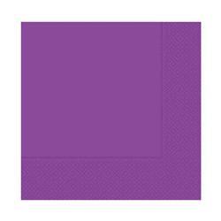 - Mor Kağıt Peçete (33x33 cm) 20'li Paket