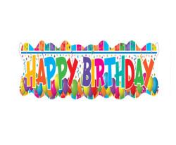 - Happy Birthday Banner Multıcolour